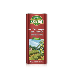 KRİSTAL - Extra Virgin Olive Oil 1 L Tin Can
