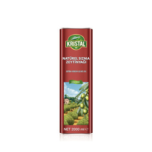 KRİSTAL - Extra Virgin Olive Oil 2 L Tin Can