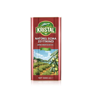 KRİSTAL - Extra Virgin Olive Oil 5 L Tin Can