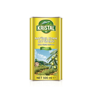 KRİSTAL - Extra Virgin Olive Oil 500 ml Tin Can