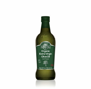 KRİSTAL - Kristal Organic Extra Virgin Olive Oil 750 ml Glass Bottle