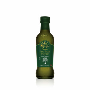 KRİSTAL - Organic Extra Virgin Olive Oil 500 ml Glass Bottle