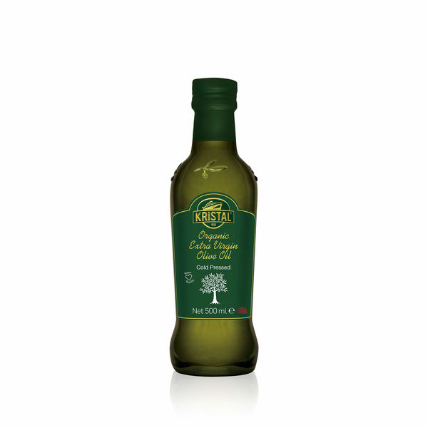 Organic Extra Virgin Olive Oil 500 ml Glass Bottle