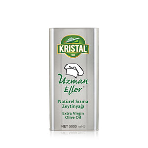 KRİSTAL - Uzman Eller Extra Virgin Olive Oil 5 L Tin Can