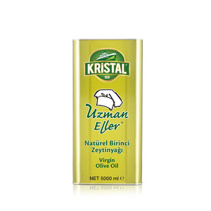 KRİSTAL - Uzman Eller Virgin Olive Oil 5 L Tin Can